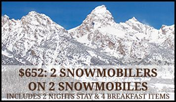 Jackson Hole Lodging Packages - Snowmobile 2
