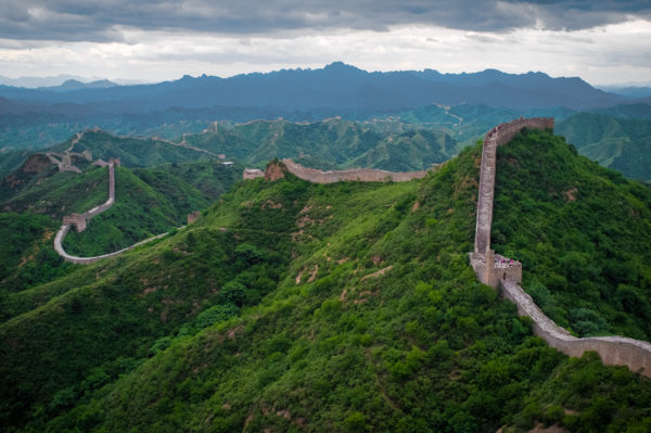 Great Wall of China, not far from Jackson Hole